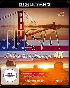 USA - A West Coast Journey in 4K (4K Ultra HD Blu-ray)