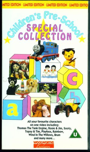 childrens-pre-school-special-collection-pal-vhs