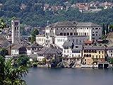 ZZXSY Puzzle 1000 Pezzi Isola San Giulio O Isola San Giulio, Lago D'Orta È Un Ottimo Regalo