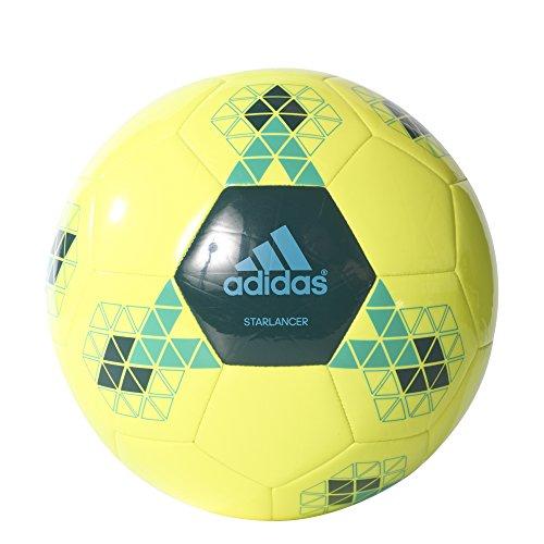 adidas STARLANCER V Fußball, Herren Multicolore - jaune/vert/bleu (Amasol / Vermis / Azuene)