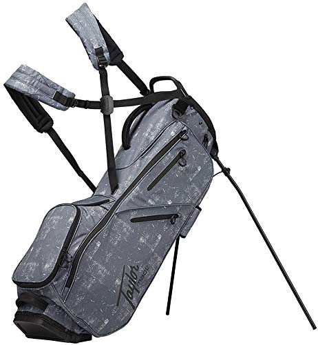 TaylorMade 2019 Flextech Lifestyle Stand Golf Bag, Unisex-Erwachsene, Flextech Lifestyle Stand Bag, Tweed - Tweed Duffle