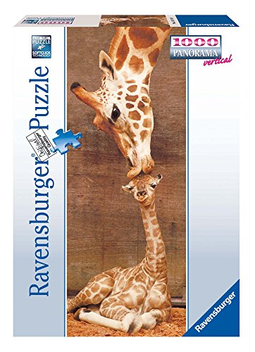 Ravensburger-15115-Giraffe-The-First-Kiss-1000-Teile-Panorama-Puzzle