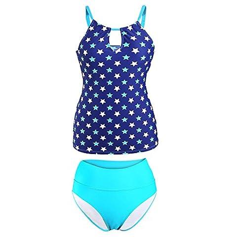 MEINICE - Maillot de bain deux pièces - Femme - bleu - S