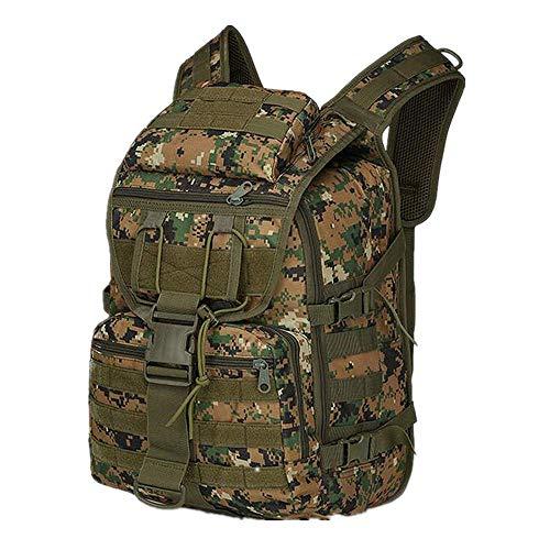 Sacs de Trekking Sac D'Épaule De Camouflage Extérieur Camping Multifonctionnel Sac d'assaut Sac À Dos Tactique