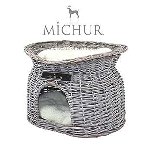 richy panier pour chien et chat en osier grandeur. Black Bedroom Furniture Sets. Home Design Ideas