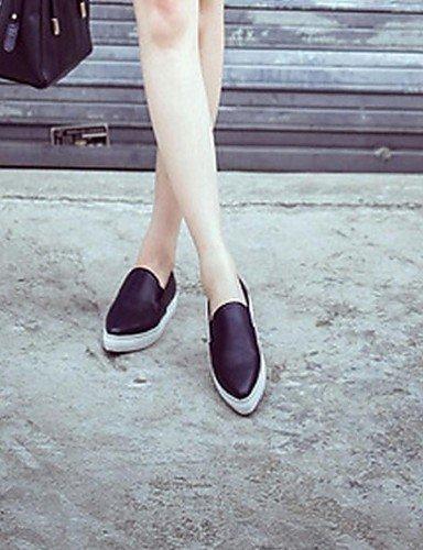 ShangYi Scarpe Donna - Mocassini - Ufficio e lavoro / Casual - A punta - Basso - Finta pelle - Rosa Pink