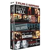 5 films à suspense : From Hell + L'année du dragon + Usual Suspects + The Sentinel + Crimes et pouvoir