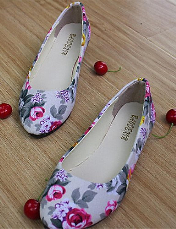 shangyi Zapatos – Bailarinas Mujer – LÄSSIG – Plástico – Plano tacón – redondas zapato – Negro/Azul/Verde/Rosa...