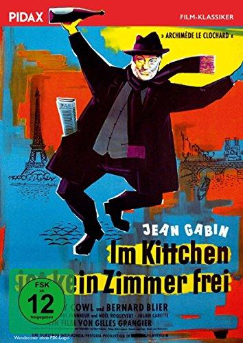 Bild von Im Kittchen ist kein Zimmer frei (Archimède, le Clochard) / Preisgekrönter Film mit Jean Gabin (Pidax Film-Klassiker)