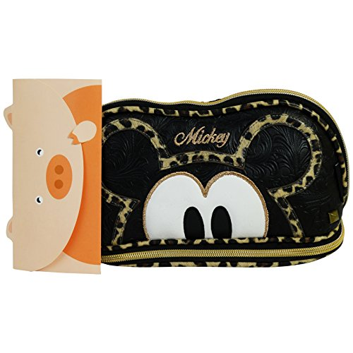 Disney Mickey Mouse Minimal Pochette Maquillage Make-Up Beauty Vanity Trousse Candy