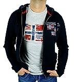 Napapijri Sweatshirtjacke NOYHCD176 Blu Marine BRYNO FULL (L/52)