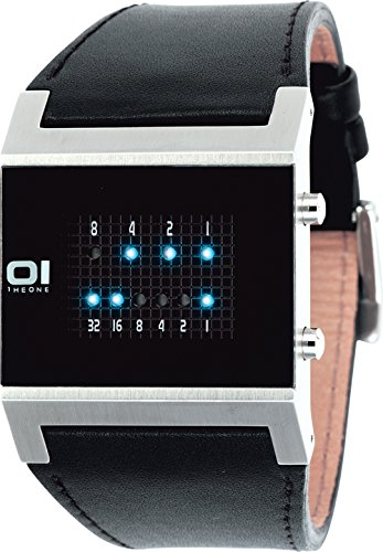 Binary THE ONE KT102B1 - Reloj de cuarzo para hombres, color negro