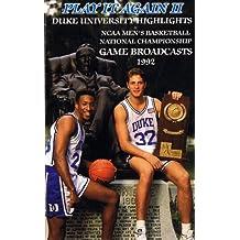 Duke University 1992 Ncaa Basketball National Championship Run