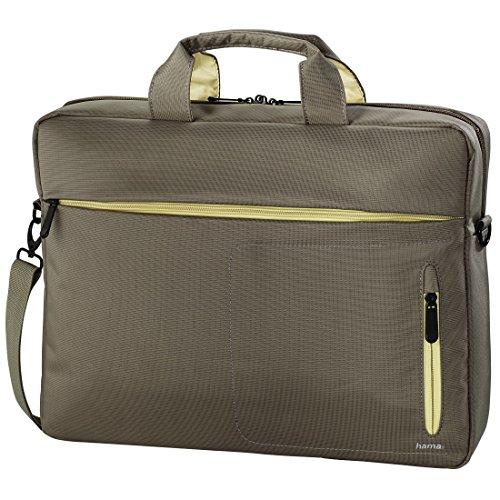 Preisvergleich Produktbild 'Hama 101283Marseille Style Tasche für Notebook 15,6Zoll, Braun/Gelb