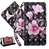 Moto Z3 Play Wallet Case, COTDINFORCA Body Cover Stand