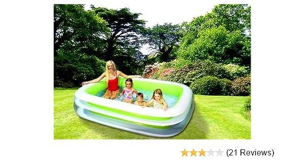 Planschbecken FAMILY Pool 260 X 175 Cm Schwimmbecken INTEX: Amazon.de:  Garten
