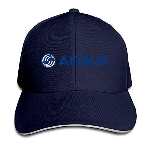 hittings-airbus-logo-blue-adjustable-snapback-caps-baseball-peaked-hat-navy