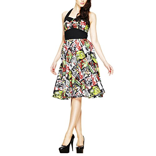 Hell Bunny B-MOVIE 50'S DRESS 4141 black-multi (L)