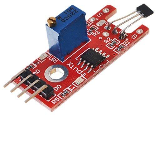 5 Pcs AD-024 Linear Hall Magnetic sensor Module for Electronic Brick AVR PIC (Brick Pc)