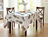 #10: Tablecloth for square dining table 60 X 60 Inches 4 Seater Table cover