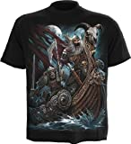 Spiral - Men - VIKING DEAD - T-Shirt Black