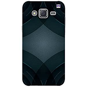 Black Design - Mobile Back Case Cover For Samsung Galaxy J2 (2016)