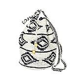MARYSAL Hippie Bag | Handgefertigt aus Guatemala | Das perfekte Sommer-Accessoire! (Schwarz)
