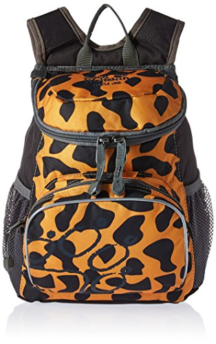 Jack Wolfskin Kinder Little Joe Rucksack, Jaguar, 32x29x2 cm (Kids Orange Schuhe)