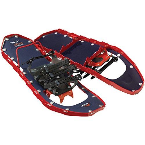 MSR Lightning Ascent Ultralight Damen Schneeschuhe für Bergsteiger und Backcountry, Damen, 10206, Himbeere, 56 cm -