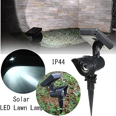 IP44 esterno impermeabile LED alimentata solare della