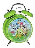 Unbekannt Kinderwecker Baby Looney Tunes - für Kinder Metall großer Wecker Analog - Alarm Metallwecker - Bugs Bunny Tweety Taz Domic