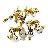 Bausteine gebraucht 1 x Lego System Teile für Set Modell für Ninjago 20667 Temple of Light Perl Gold Goldener Ninja Kampf Roboter Incomplete unvollständig