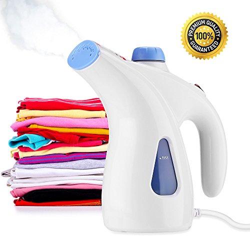 Handheld Garment Steamer, BWORPPY Wäschedämpfer mit automatischem Abschalt-Sicherheitsschutz für Haus und Reise, 200ml