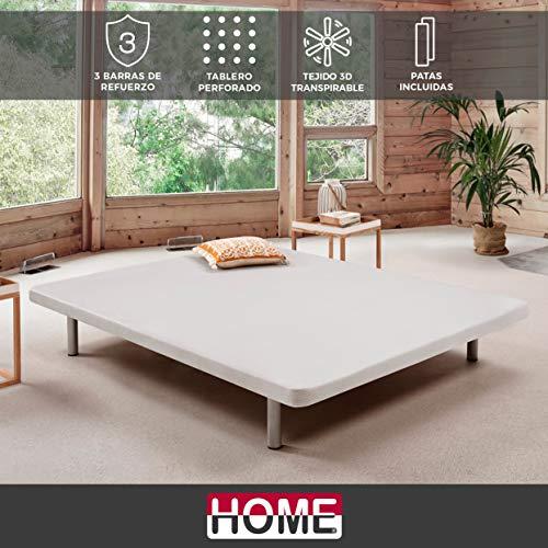 Komfortland Base tapizada 3D One Medida 90x200 cm
