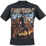 Powerwolf Viking Wolves T-Shirt schwarz XL