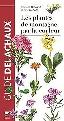 Les plantes de montagne par la couleur