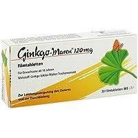 GINKGO MAREN 120 mg Filmtabletten 30 St Filmtabletten by Ginkgo preisvergleich bei billige-tabletten.eu