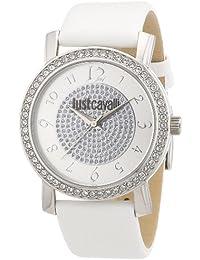 Just Cavalli Damen-Armbanduhr Moon Analog Leder R7251103503