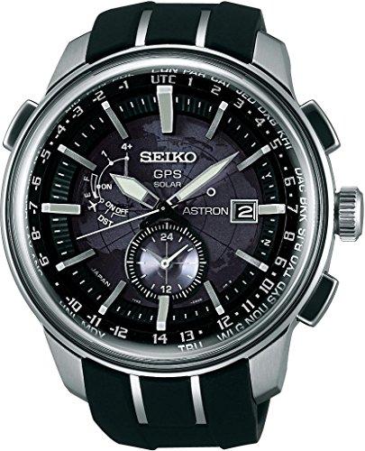 Seiko Astron SAS031J1 GPS Solar Uhr GPS Empfang f. Uhrzeit & Zeitzone