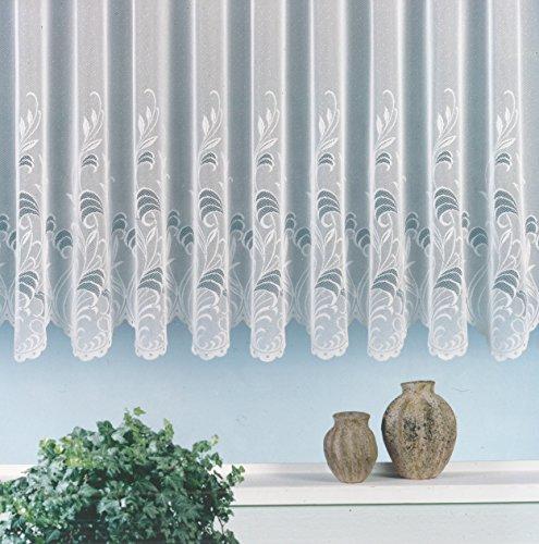 heimtexland Jacquardstore, Gardine, Vorhang, weiß, Verschiedene Größen, weiß, 100X300