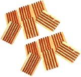 Aerzetix - 60 x strisce kit riparazione foratura ripara gomme...