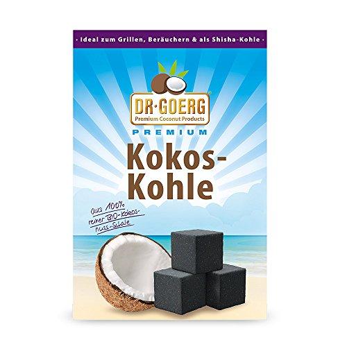 Kokos-Kohle Bio 1kg Premium-Qualität ohne Zusatzstoffe