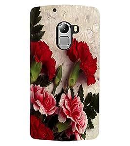 ColourCraft Beautiful Flowers Design Back Case Cover for LENOVO A7010