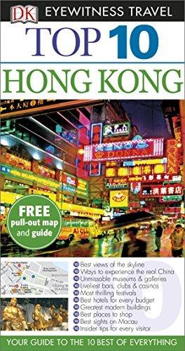 DK Eyewitness Top 10 Travel Guide Hong Kong by Andrew Stone (2015-05-01)