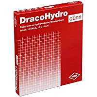DRACOHYDRO dünn Hydrokoll.Wundauflage 10x10 cm 10 St Verband preisvergleich bei billige-tabletten.eu