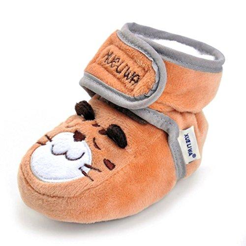 Chaussures bébé 2017,Xinan Chaussures Garçon Fille Cuir Souple 6 Couleurs