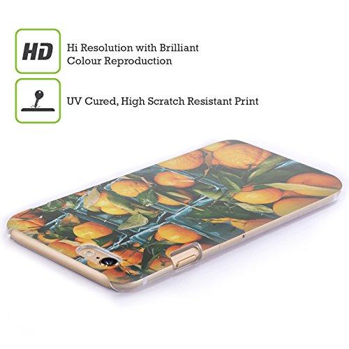 Offizielle Olivia Joy StClaire Ananas Tropisch Ruckseite Hülle für Apple iPhone 7 Plus / 8 Plus Orangen