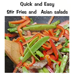 Quick and Easy  Stir-Fry and Asian Salads (Delicious Mini Book Book 9) (English Editi