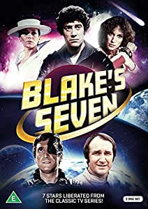 BLAKE'S SEVEN - 7 STARS LIBERATED FROM THE CLASSIC TV SERIES!(Multi Region DVD)