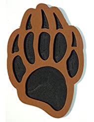 toejamr Stomp Pad – Grizzly Bear Paw – Marron
